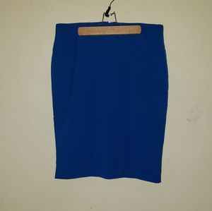Cobalt blue Alfani skirt size 6